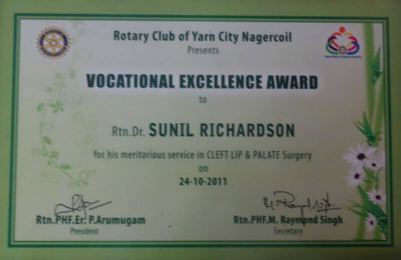 Certificate - India, 2006