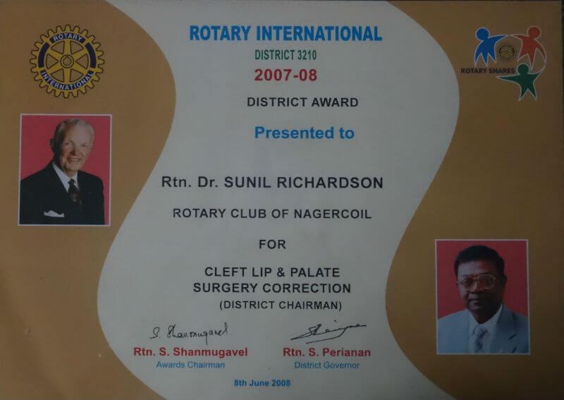 Certificate - India, 2008