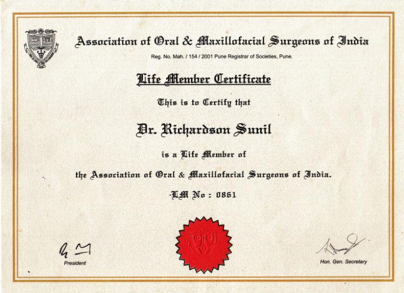 Certificate - Pune, 2017