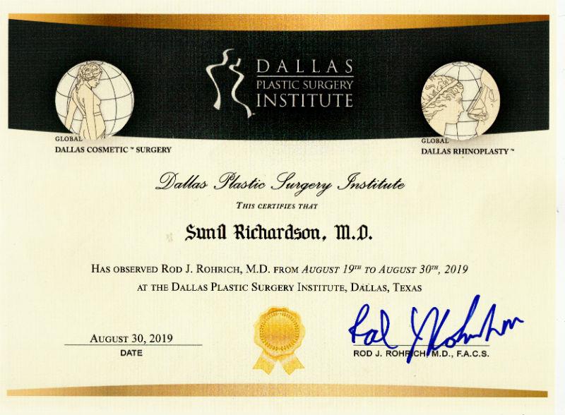 Certificate - USA, 2019