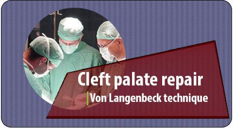 Cleft palate repair surgery in Richardson Dental and craniofacial hospital
