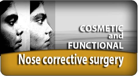 Cosmetic and functional nose corrective surgery in India