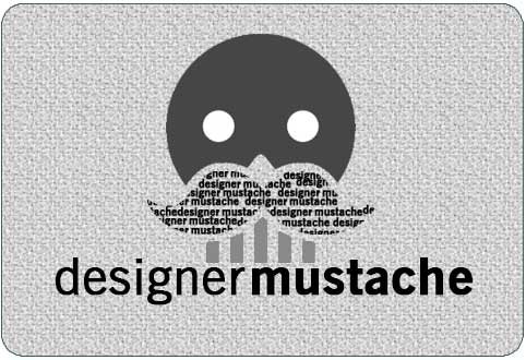 Designer Mustache