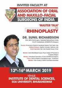 Association of oral and maxillo-facial surgeons of India Invitation