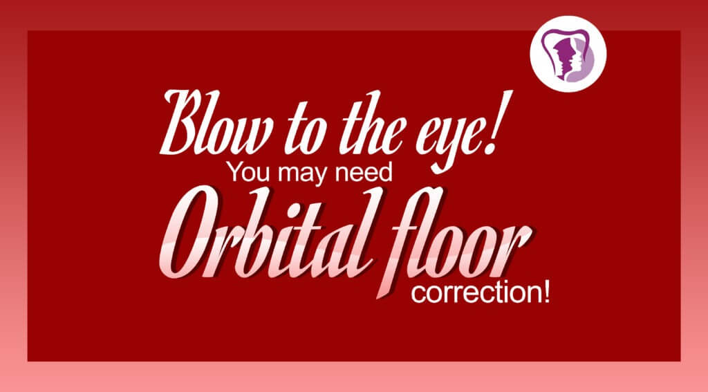 Orbital floor fracture surgery in Tamil Nadu