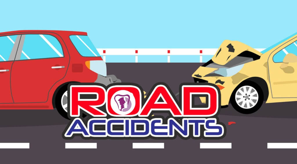 Road accidents Face rebuild surgery