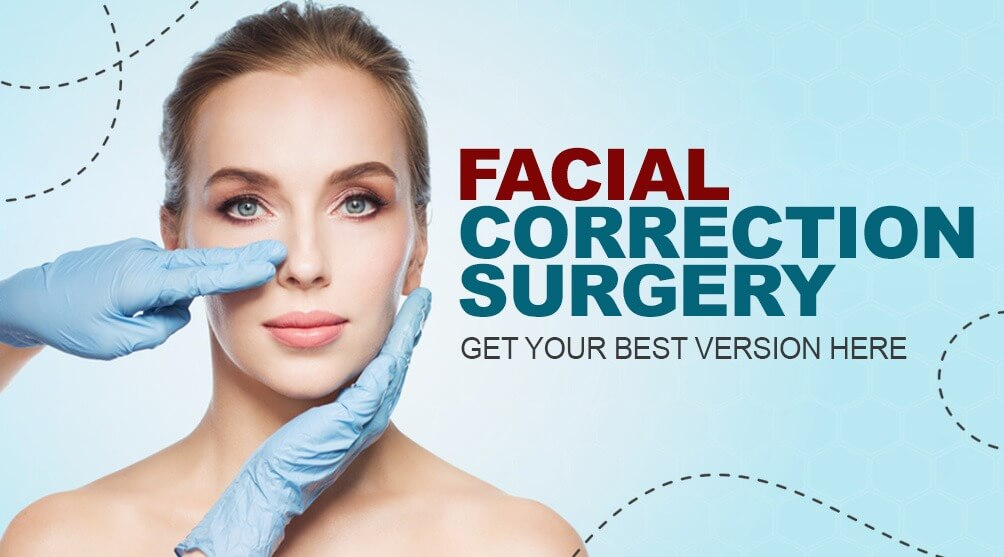 facial correction surgery in India
