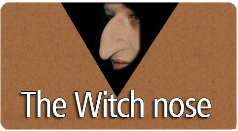 witch nose cover
